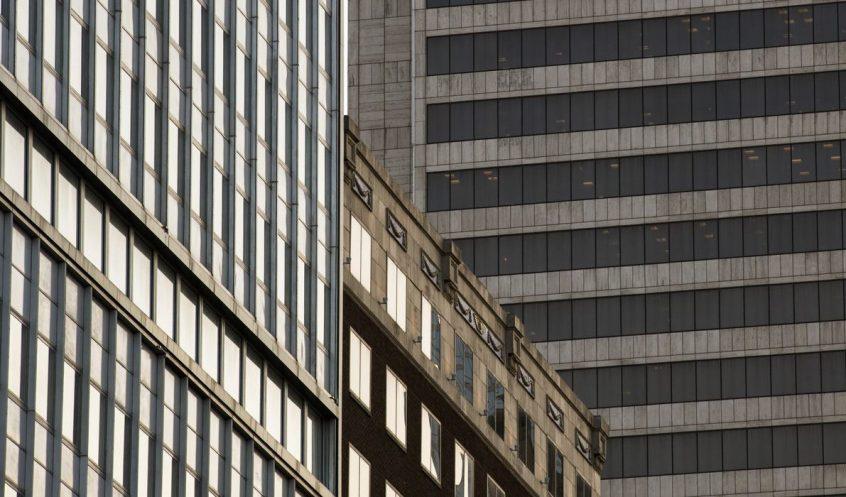 Banki épület képe